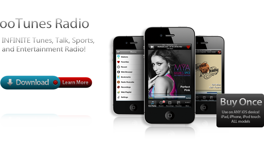 ooTunes Radio:  Infinite Tunes, Talk, Sports and Entertainment Radio!